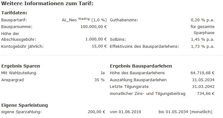 Alte Leipziger Tarif Neo 1,45
