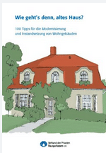Wie gehts denn altes Haus, Fragen und Antworten zur Modernisierung