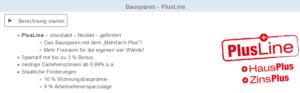 Online Bausparrechner der Bausparkasse Mainz